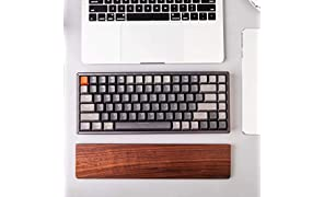Walnut Wood Palm Rest for Keychron K1 K2 Bluetooth Mechanical Keyboard