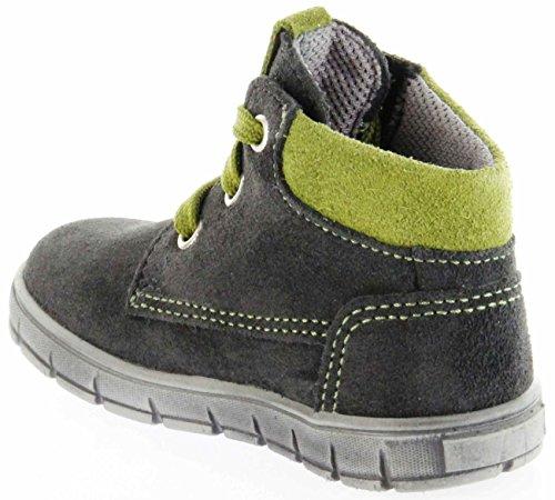 Richter Kinder Lauflerner Grau Velourleder Sympatex Jungen Schuhe 1124-242-6501 Steel Info S Grau