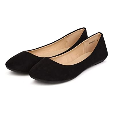 Women's Ballet Flats Classy Simple Casual Slip-on Comfort Casual Walking Shoes | Flats