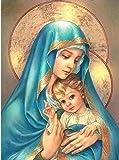 Virgin Mary Christ Robe Diamond Painting