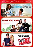 No Strings Attached/I Love You, Man/She's Out of My League [Region 2]