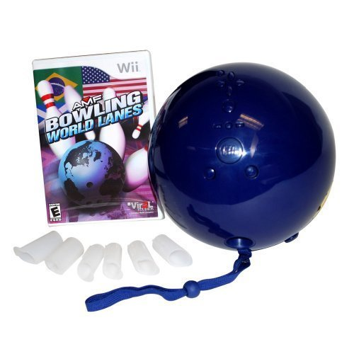 Wii Bowling Ball World Lanes Game