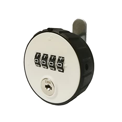 MICG Combination Cam Fitting Room Cabinet Lock with 4 Digit Code Key Password Security Coded Locks