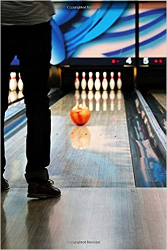 Bowling Alley Journal: 150 page lined notebook/diary: Cool