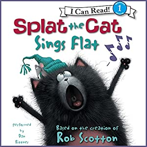 Splat the Cat: Splat the Cat Sings Flat Audiobook