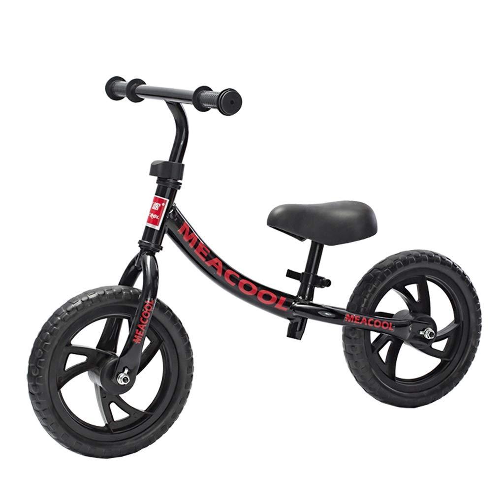 ahorra hasta un 30-50% de descuento SSRS Equilibrio for niños Cochero Cochero Cochero Deslizante Coche niños Acero al Cochebono Alto sin Pedal de Bicicleta 2-5-6 años resbalón for niños pequeños (Color   negro )  compras en linea