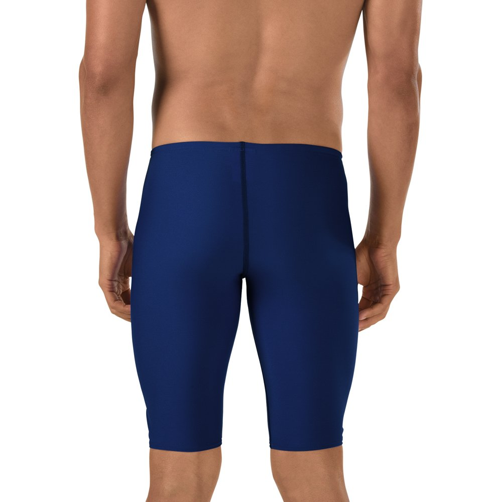e003fc9acc051 Amazon.com : Speedo Boys' Jammer Swimsuit - Endurance+ Polyester Solid :  Athletic Swim Jammers : Clothing