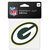 """Green Bay Packers Official NFL 4"""" x 4"""" Decal"""