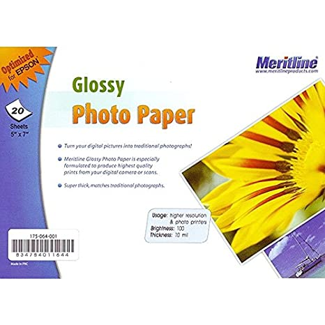 Amazon.com: Epson Glossy Photo Paper 5