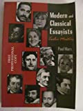 Modern and Classical Essayists : Twelve Masters, Paul Marx, 1559344512