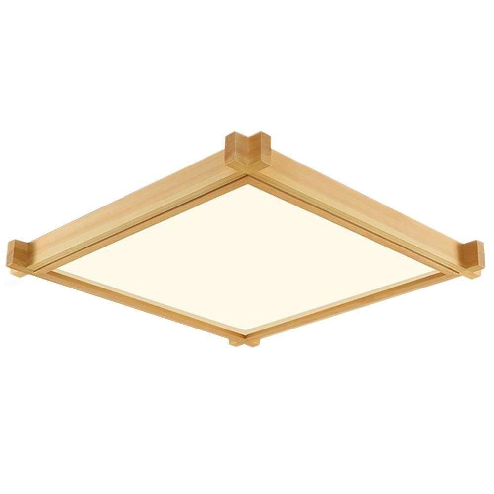 Openry シーリングライトシーリングライトスリムシャンデリア木製シーリングライト学習用/寝室用/ダイニング用/リビング用暖かい照明LED うまく設計された B07S9TXFQM