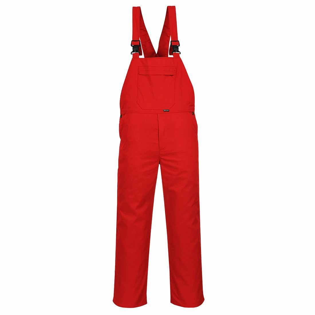 Bib and Brace Work Overalls for men - Basic - Red Portwest