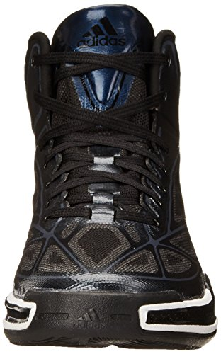 Scarpa Da Basket Adidas Performance Mens Adizero Crazy Light Nera / Bianca / Argento