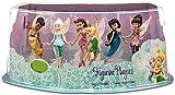 Disney The Secret of the Wings Fairies Figurine Playset [Tinker Bell, Periwinkle, Iridessa, Rosetta, Silvermist, Vidia]