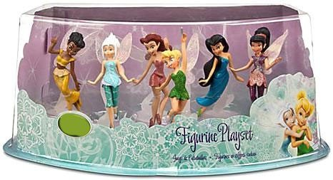 Fairie Wings (Disney The Secret of the Wings Fairies Figurine Playset [Tinker Bell, Periwinkle, Iridessa, Rosetta, Silvermist, Vidia])