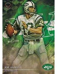 Joe Namath football card (New York Jets) 2014 Topps Valor #2
