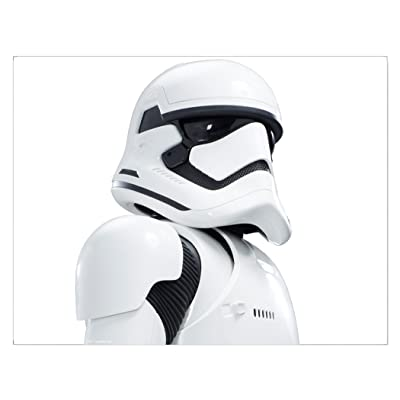 FanWraps The Force Awakens Passenger Series First Order Stormtrooper Perforated Window Decal: Toys & Games