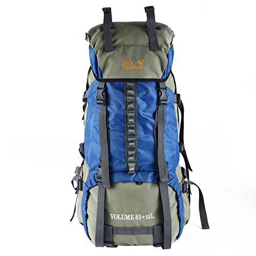 ym-professional Damen und Herren Outdoor Bergsteigen Taschen 80L Rucksack Rucksack groß Kapazität Reisetasche, wasserfest, blau (Blau) - 7358956879274