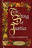 The Sting of Justice by Cora Harrison front cover