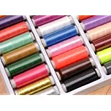 LIHAO Polyester Sewing Thread Yarn Set(39 Colores)