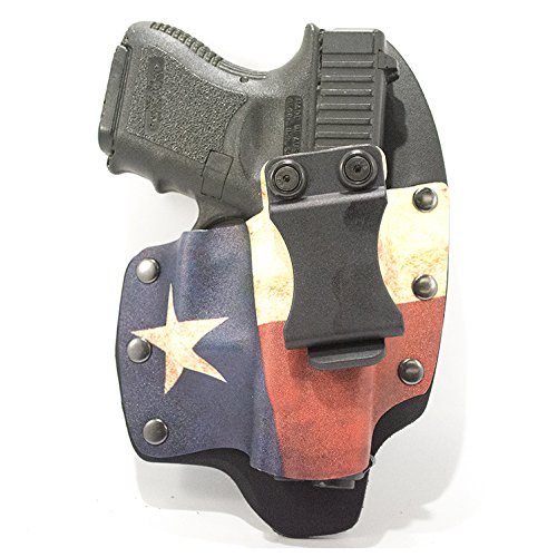 Texas Flag IWB Hybrid Concealed Carry Holster (Right-Hand...