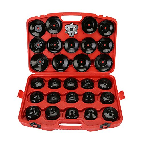 Eapmic 30Pcs Oil Filter Cap Wrench Socket Set Removal Car Garage Tool Kit by Eapmic (Image #1)