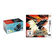 New Nintendo 2DS XL (Schwarz & Türkis) + Pokémon Ultrasonne
