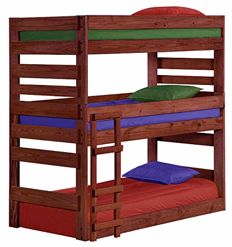 Cass County Extra Long Triple Bunk Bed (Extra Long Twin Bunk Bed)