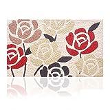 Handmade mats/ toe pads/Door mats/Bathroom water-absorbing mat/Household mats-E 40x60cm(16x24inch)