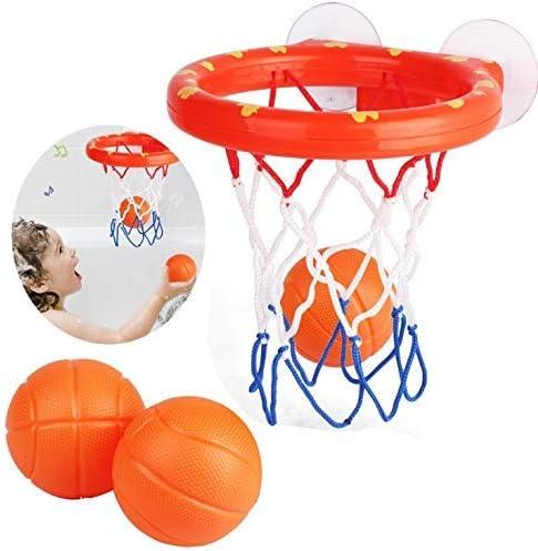 GUDEMN Juguetes de baño para niños, Baloncesto, Juego de Pelota y ...
