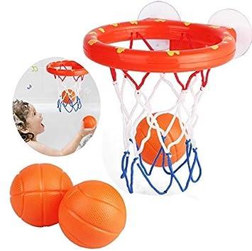 GUDEMN Juguetes de baño para niños, Baloncesto, Juego de ...