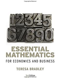 Essential mathematics for economics and business teresa bradley customers who viewed this item also viewed fandeluxe Gallery