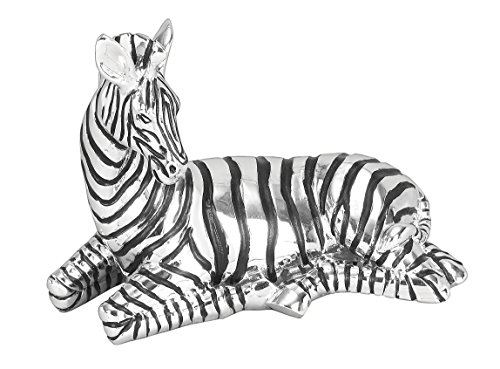 Deco 79 Poly-Stone Zebra, 11 by 8-Inch, used for sale  Delivered anywhere in USA