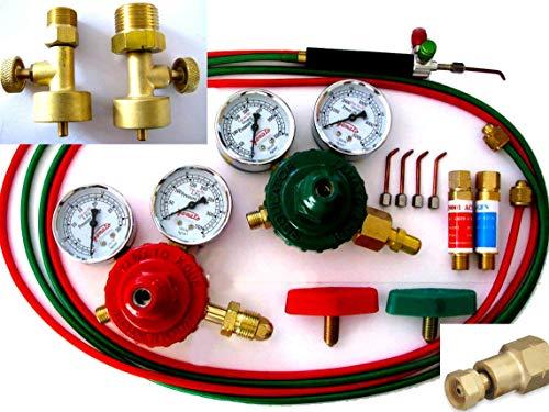 Devardi Glass Jewelers Torch w/Canister Adapters, 2