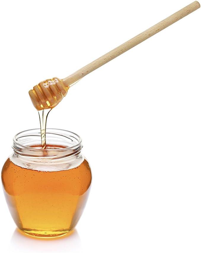 Miele caff/è 2 Colori Zucchero Antiscottatura creativit/à Legno Mini Cucchiaino da t/è per Vasetti di Marmellata Cucchiaino di Miele Senape YGHH 10 Pezzi Mini Cucchiaio di Legno t/è Spezie