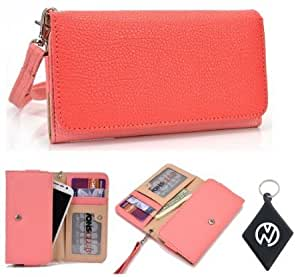 Alcatel One Touch (fits most Alcatel One Touch models including Idol, Snap, Idol Ultra, Idol X, Star ) Wallet...