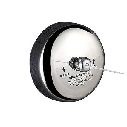 Xyanzi Clothesline Cuerda para Tender La Ropa Retráctil Cuerda De Nylon Invisible De Acero Inoxidable 304