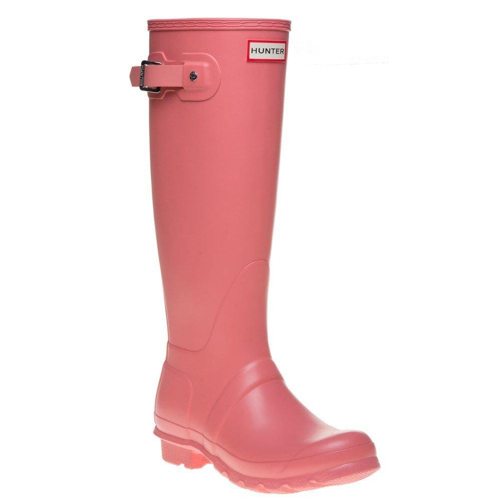 Hunter Women's Original Tall Pink Rain Boots - 7 B(M) US