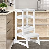 Kitchen Helper Stool for Toddlers,Wiifo Adjustable