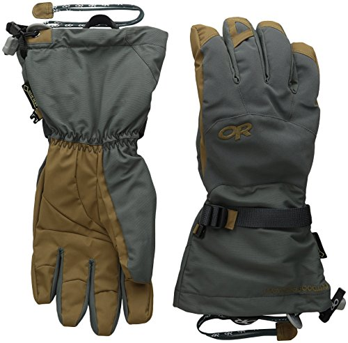 Outdoor Research Men's Alti Gloves, Charcoal/Natural, Small