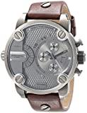 Diesel The Daddies Series Quartz Grey Dial Male Watch DZ7258