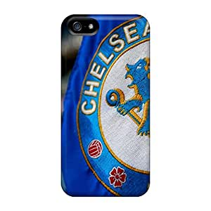 ZCt393OVam Anti-scratch Case Cover MKAce Protective Chelsea Fc Logo Case For Iphone 5/5s
