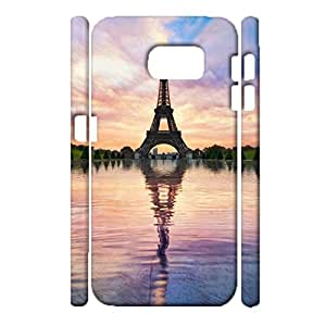 Samsung Galaxy S6 3d Protective Case Graceful Water Tower Design Phone Case for Samsung Galaxy S6