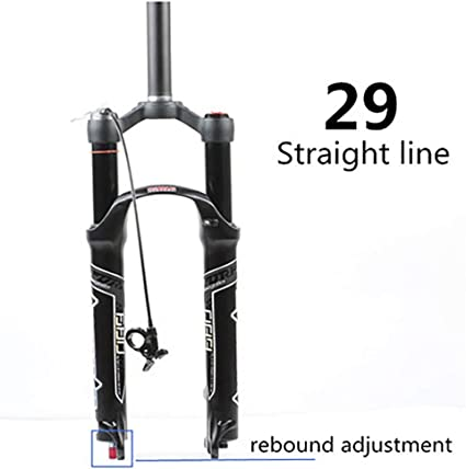 "Bike Air Suspension Fork For 26/"" 27.5/"" 29/"" MTB Mountain Bike Front Forks NEW"