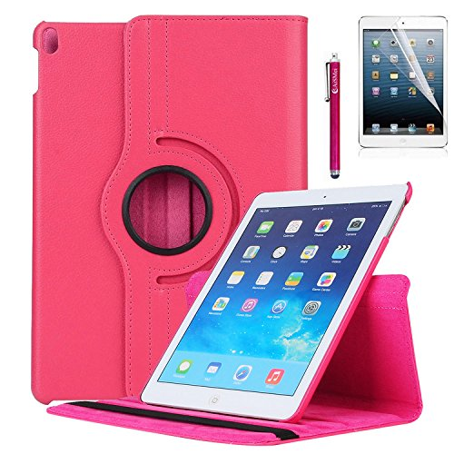 iPad Pro 10.5 Case - AiSMei Rotating Stand Case Cover with A