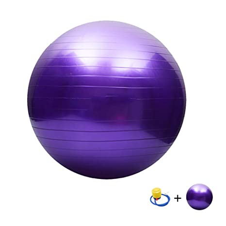 Pelota Suiza Gym Ball,Pilates Pelota de Ejercicio Anti-Burst para ...