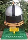 Sports Grills Touch Down 3000 Portable Charcoal BBQ44; Silver & Black