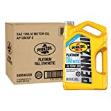 Pennzoil 550046205-3PK Platinum 5 quart 10W-30 Full Synthetic Motor Oil (SN/GF-5 Jug 3pk.)
