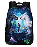How to Train Your Dragon Backpack Hiccup Cosplay Bag Waterproof Schoolbag for Men Boys D002-TY01-K3B12