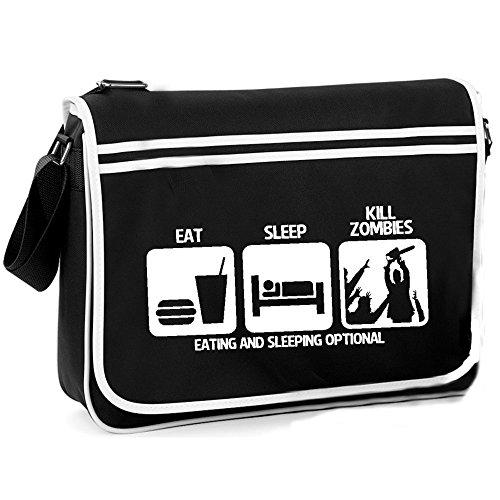 Shoulder Eat Kill Retro Bag Zombies Sleep wTSaP7qO